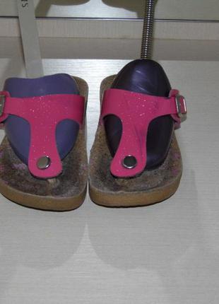 Пробковые ортопедические сандали - - 28 раз.bjorndal- стелька 17 см.