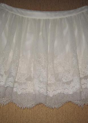 Пышная кружевная многослойная юбка испания suiteblanco распродажа!!!