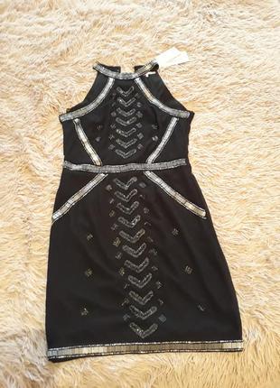Дизайнерское платье новое с биркой
