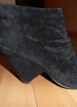 Ботинки reserved, замша