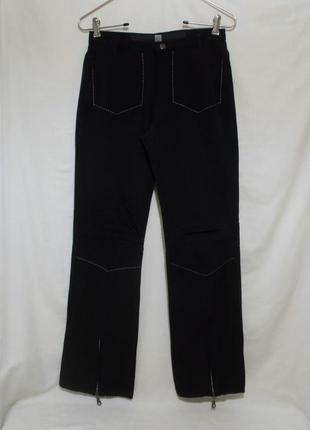 Дизайнерские джинсы прямые нейлон *marithe+francois girbaud* 46р