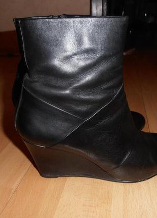 Ботинки braska, кожа