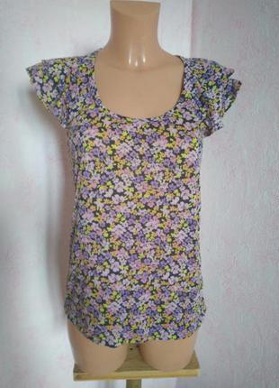 Рубашка в мелкий цветочек для дома вподарок