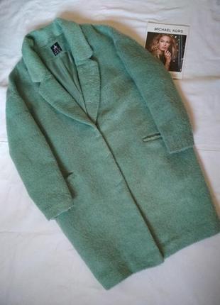 Классное демисезонное пальто кокон,оверсайз....