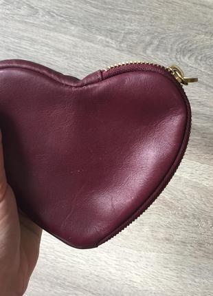 Шкіряний гаманець-сумочка