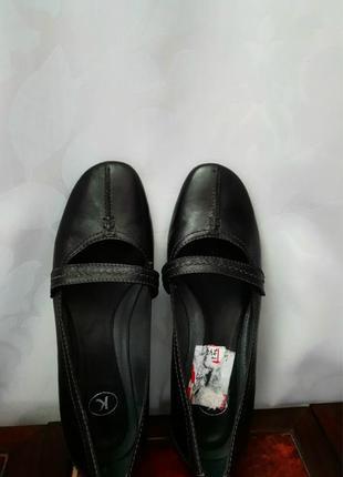 Кожаные туфли clarks! 39 р.