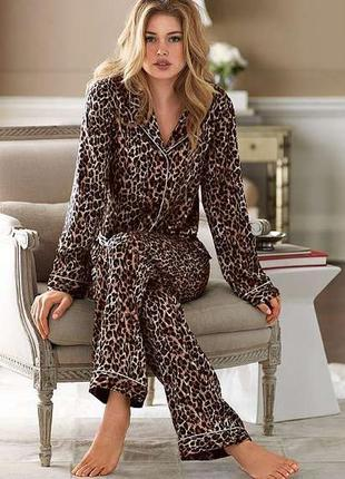 Пижама леопард брюки marks & spencer limited