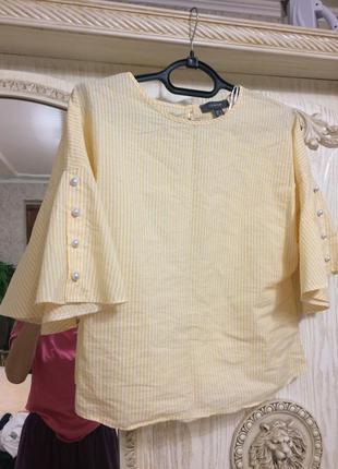Блузка с воланами фирменная primark