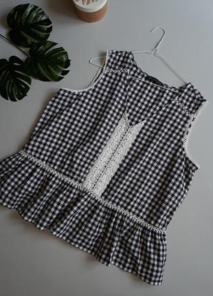 Хлопковая блуза m&s 18 на 52-54