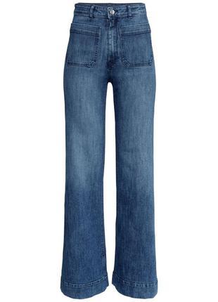 Расклешенные джинсы h&m