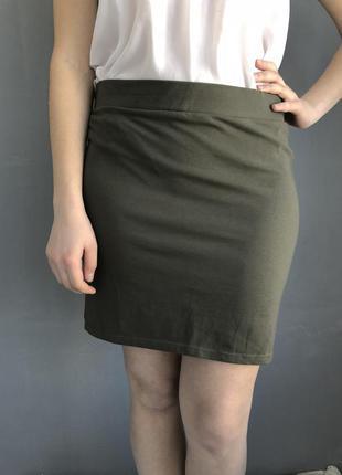 Юбка, юбочка хаки , юбка мини , юбка в обтяжку