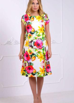 Платье стиля h&m большие размеры. цена со скидкой 30%