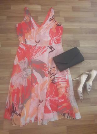 Снизила цены! эффектное и стильное платье на каждый день