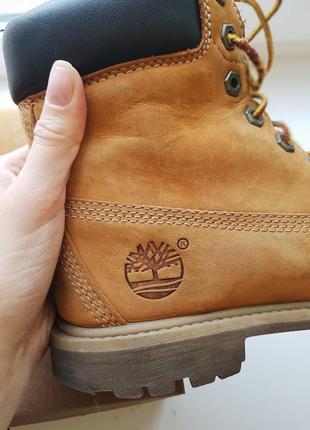 Кожаные оригинальные ботинки timberland 36-37p