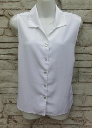 Распродажа!!! красивая, белая блуза berkertex