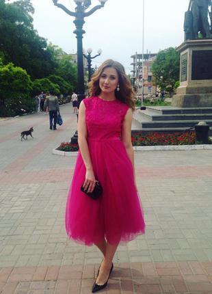 Платье, выпускное платье, платье-миди