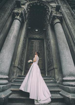 Роскошное свадебное платье slanovskiy