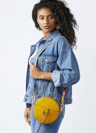 Оригинальная круглая фирменная сумка кросс-боди accessorize с кошелечком