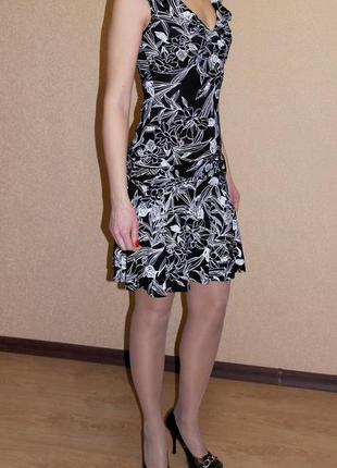 Платье сарафан с заниженной талией jane norman 8р.