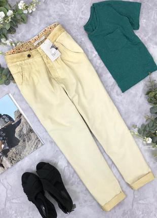 Стильные брюки свободной посадки и градиентным затемнением от zara   pn182050