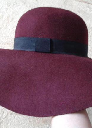 Шляпа из шерсти h&m
