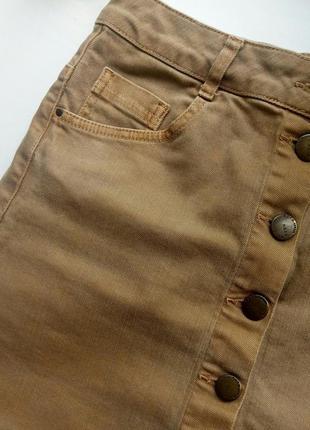 Юбка на пуговицах, мини-юбка topshop