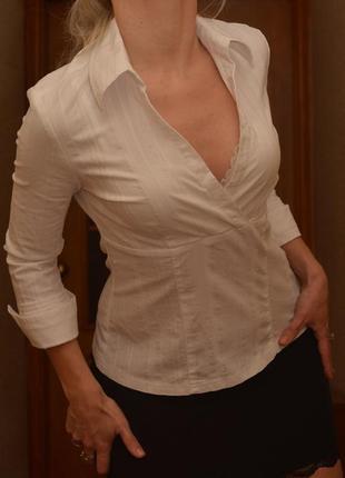 Белая блузка evie, 10-12 размер