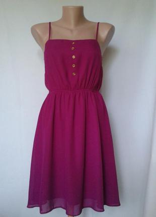 Яркое платье asos, размер 10