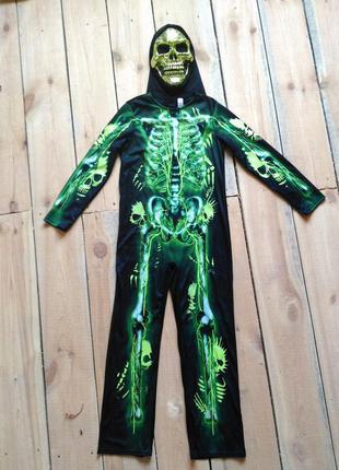 Карнавальный костюм 11 12 лет на хэллоуин скелет