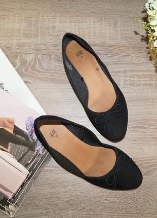 (36р./23,5см) h&m! красивые туфли, балетки