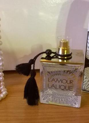 Lalique l'amour парфюмированная вода 100 мл оригинал тестер без крышечки