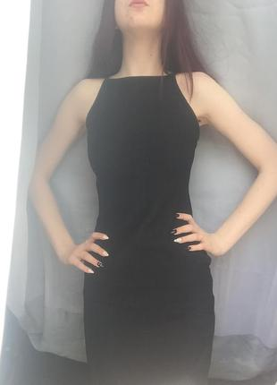 Очень красивое чёрное платье от new look