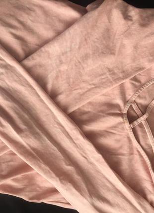 Розовая футболка new look3