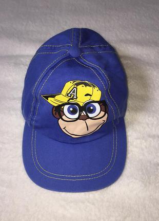 Хлопковая кепка бейсболка rebel на 2-3 года.