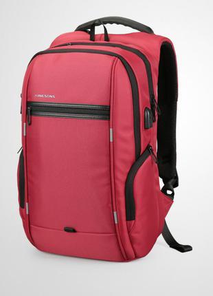 Городской рюкзак kingsons для ноутбука с usb.