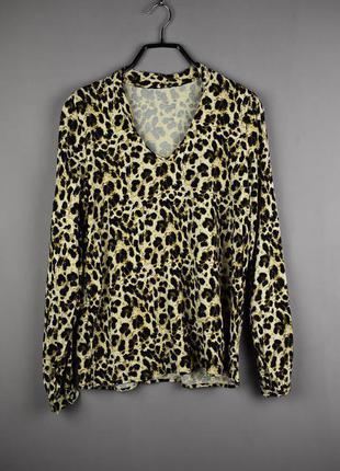 Красивая леопардовая блуза от esmara
