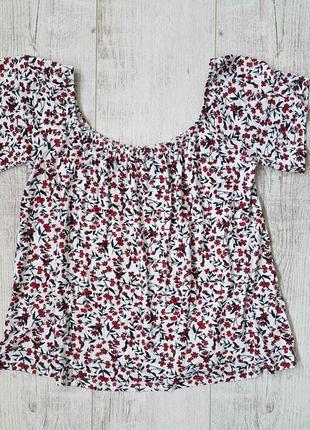 Женская футболка с&а. размер с, м