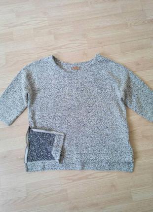 Пуловер-реглан next буклированный с молниями р. 18