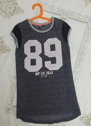 Стильное платье teen girls в спортивном стиле140-146 см