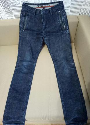 Мужские темные джинсы
