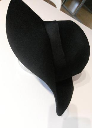 Фетровая шляпа,поля10см