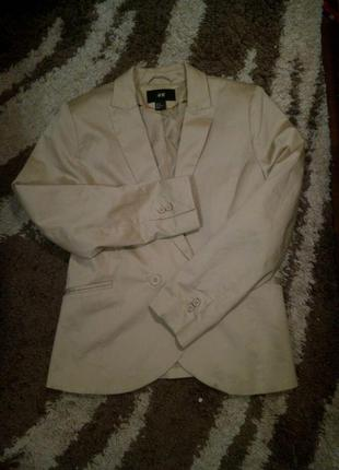 Пиджак блейзер h&m