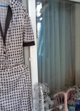 Костюм юбка и пиджак,новый,р.50.