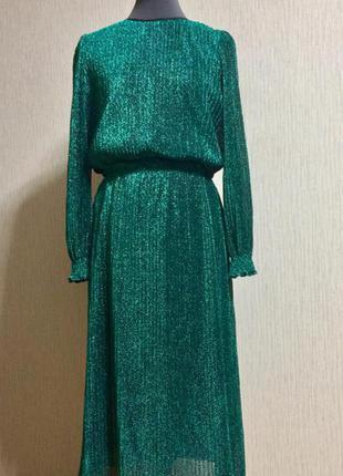 Италия красивейшее платье с люрексом