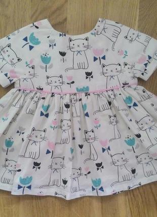 Плаття в котики для маленької модняшки