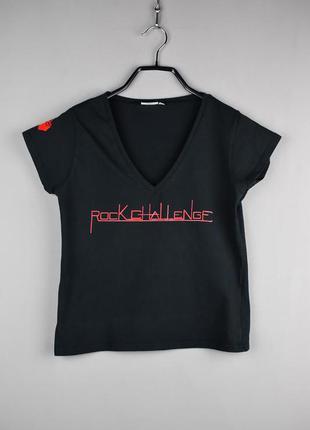 Черная футболка от hanes