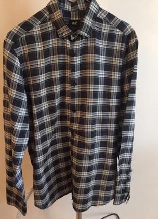Рубашка h&m, m