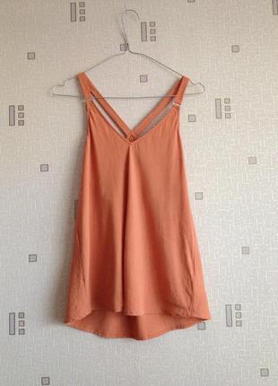 Блуза new look размер 10 цвет чайная роза