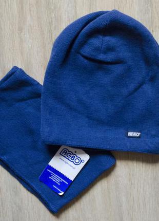 Фірмовий польський головний набір марки agbo (шапка та хамут)