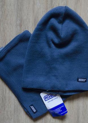 Поделиться:  фірмовий польський головний набір марки agbo (шапка та хамут)
